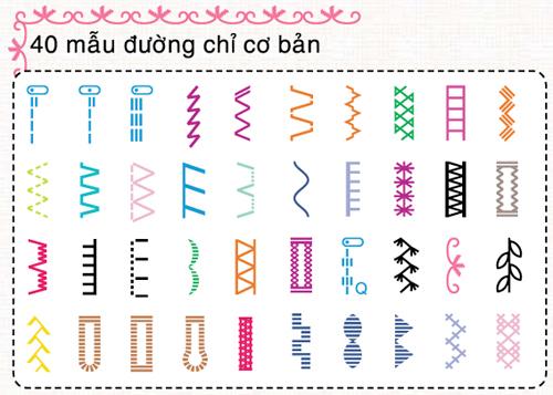 Mẫu đường may DS140, Suamaykhau.com